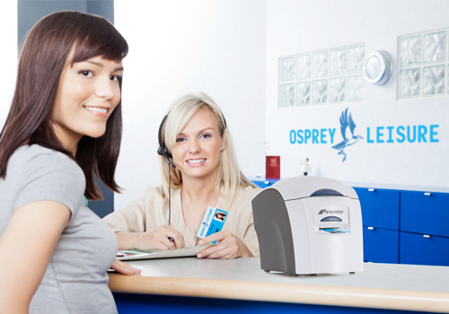 Easy desktop id card printing
