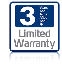3 Year warranty available with this ID printer