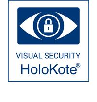 HoloKote visual security icon
