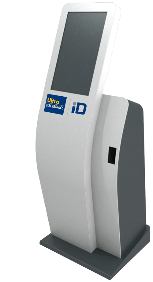 Touch screen ID issuance Kiosk