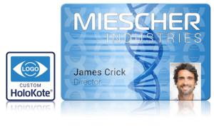 Miescher card Helix custom