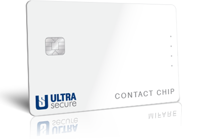 UltraSecure contact chip cards