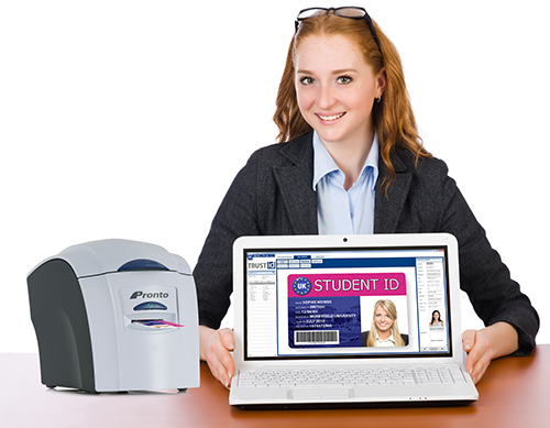 Easily print student ID cards
