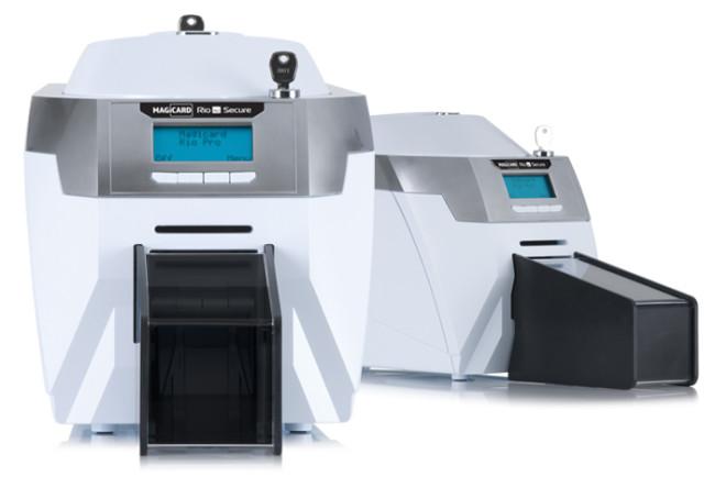 Rio pro secure id card printer hero