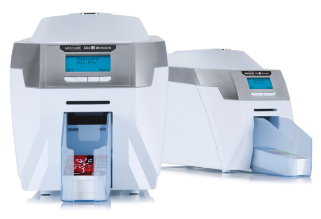 Rio pro xtended large format plastic card printer