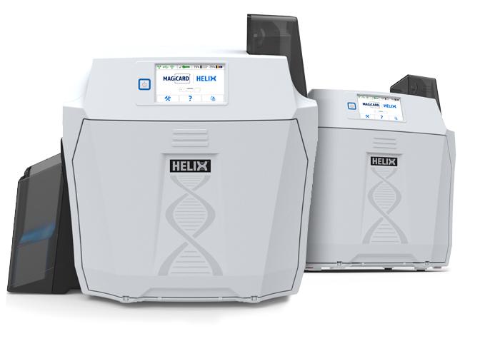 New Magicard Helix reverse transfer ID card printer