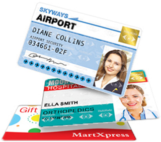 quickly print full color id card