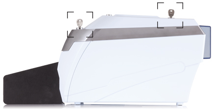 rio pro secure with lockable card input and output hoppers